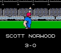 NES Tecmo Super Bowl